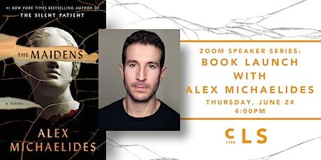 Zoom Speaker Series: Book Launch with Alex Michaelides tickets