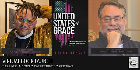 """Lenny Duncan, """"United State of Grace"""" in conversation with Tim Phillips tickets"""