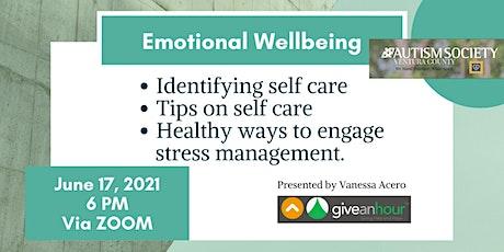 Emotional Wellbeing tickets