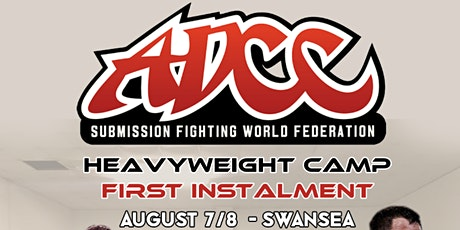 ADCC Heavy Weight UK Camp tickets