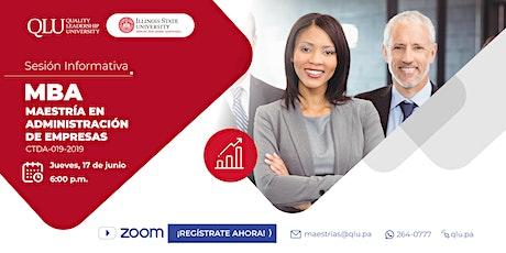 Sesión Informativa Virtual - MBA de Illinois State University entradas