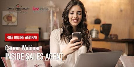 Career Webinar | Inside Sales Agent (Real Estate) tickets