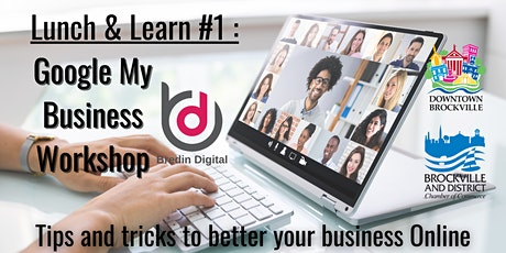 Lunch & Learn: Tips and Tricks to keep your Google My Business updated tickets
