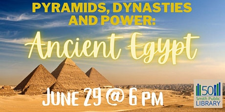 Pyramids, Dynasties and Power: Ancient Egypt tickets