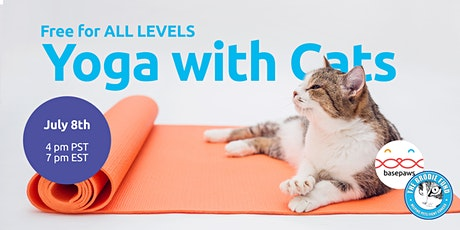 Yoga with Cats: Feline Good Series tickets