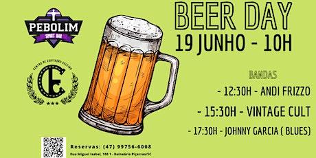 Beer Day Pebolim no CELEIRO ingressos