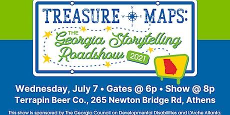 Treasure Maps: The Georgia Storytelling Roadshow ~ Athens Night! tickets