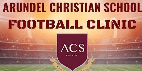 Arundel Christian School Football Clinic tickets