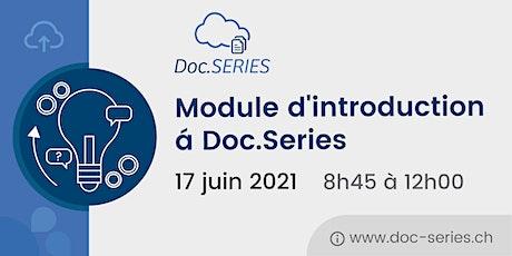 Module d'introduction á Doc.Series tickets