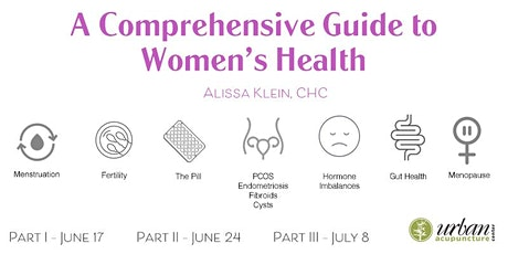 A Comprehensive Guide to Women's Health - Part II: Common Health Issues tickets