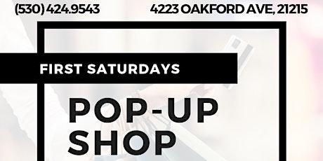 First Saturdays Pop- Up Shop tickets