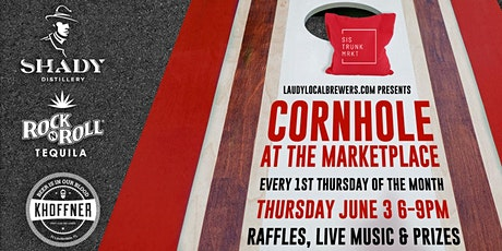 Cornhole Tournament (Every First Thursday Of The Month!) tickets