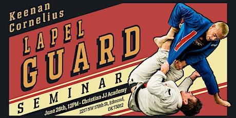 Keenan Cornelius Seminar   Christian Jiu-Jitsu Academy   Edmond, OK tickets