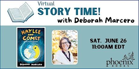 Story Time with Deborah Marcero: Haylee and Comet tickets