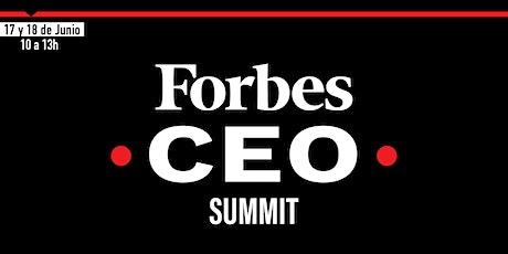FORBES CEO SUMMIT entradas