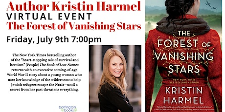 Author Kristin Harmel  Book Discussion for The Forest of Vanishing Stars tickets
