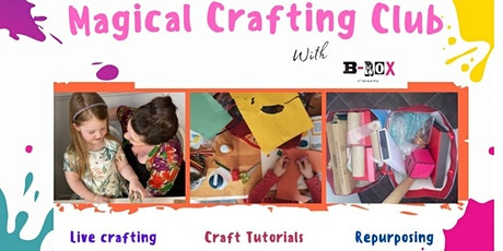 Magical Crafting  Club (Virtual craft workshops) tickets