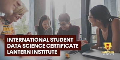 International Student Data Science Certificate Webinar