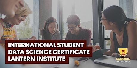 International Student Data Science Certificate Webinar tickets