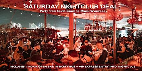 Saturday Miami Latin Nightclub Package Deal tickets