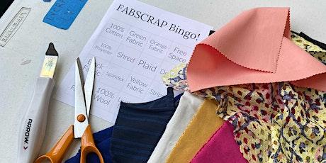 FABSCRAP Volunteer: Monday, June 28, PM BINGO session tickets
