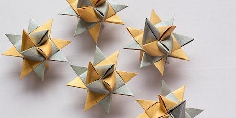 Geometric Origami - learn to make fun, intricate geometric objects. tickets