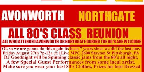Avonworth Northgate 80's Reunion tickets