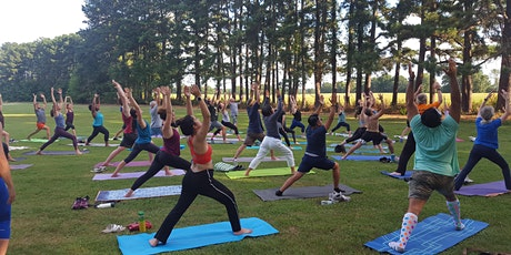 Yoga in the Park - June 23rd- Reservation Required tickets