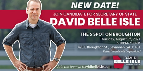 Meet & Greet with David Belle Isle tickets