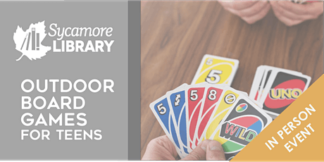 Outdoor Board Games for Teens tickets