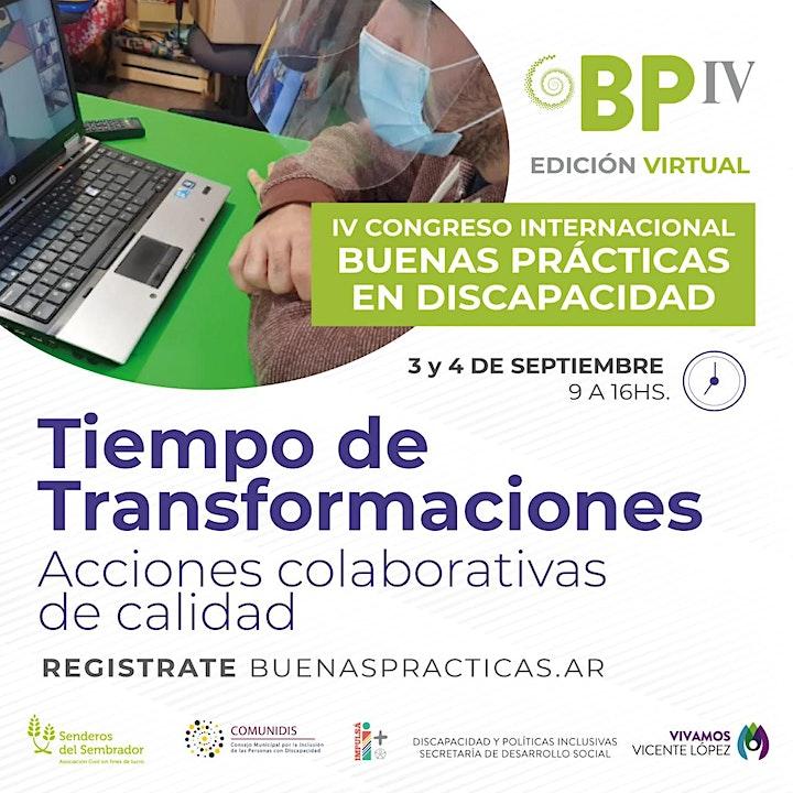 Imagen de IVCongreso Internacional de Buenas Prácticas en Discapacidad  Vicente López