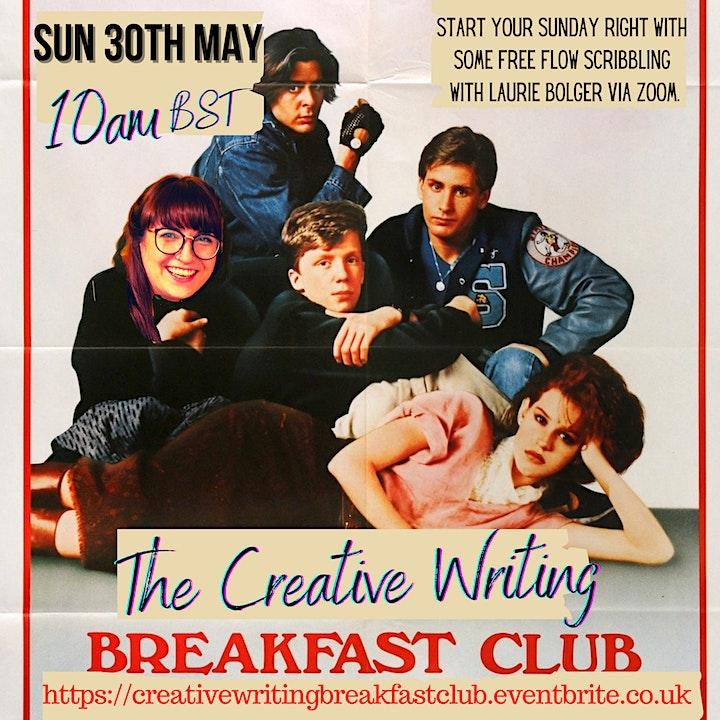 The Creative Writing Breakfast Club Sunday 30th May 2021 image