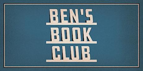 Ben's Book Club tickets