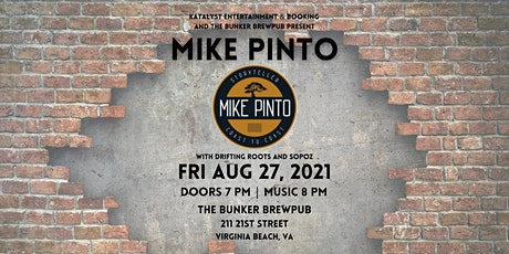 MIKE PINTO   DRIFTING ROOTS   SOPOZ tickets