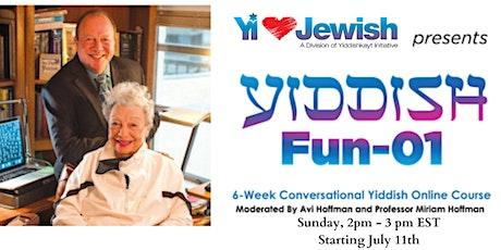 Yiddish Fun 01- 07-11-21 tickets