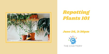Repotting Plants 101 - IN-PERSON CLASS tickets