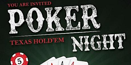Texas Hold'em Poker Benefit tickets