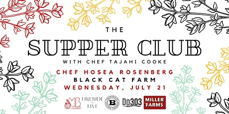Supper Club Fundraiser with Chef Hosea Rosenberg for Sophie's Neighborhood! tickets