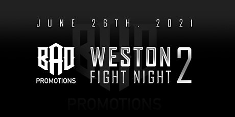 Weston Fight Night 2 tickets