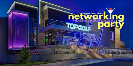 Denver Great Minds Top Golf Party tickets