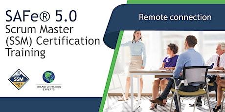 REMOTE | SAFe 5.0 Scrum Master (SSM) Certification tickets