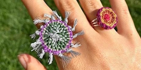 Connect + Create: Saori Woven Jewelry tickets
