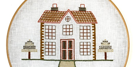 Introduction to Embroidery: Traditional Building tickets