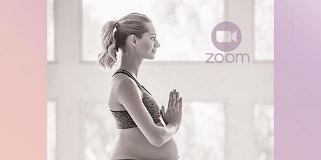 Yoga Prenatal clase de prueba GRATIS boletos