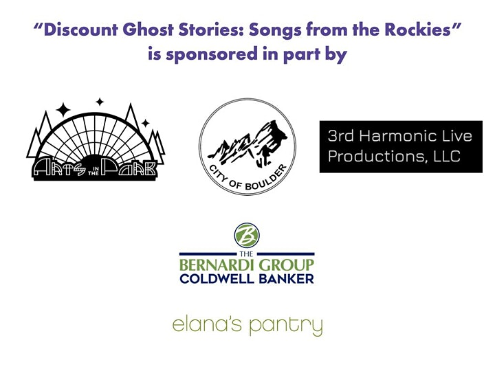 """""""Discount Ghost Stories: Songs from the Rockies"""" image"""