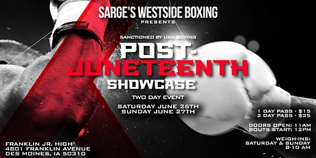 Post-Juneteenth Boxing Showcase tickets