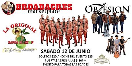 La Original Banda El Limon, Grupo Obsesion y JV Pandemia 702 tickets