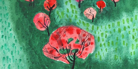 Green Field, Virtual Abstract Landscape Painting, All ages are welcome tickets