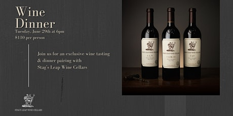 Stag's Leap Wine Cellars Dinner tickets
