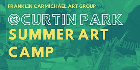 Summer Art Camp (August 9-13) tickets